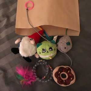 5 Cat toy mystery bag